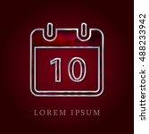 10th calendar red crystal ruby...