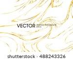 vector ink texture watercolor... | Shutterstock .eps vector #488243326