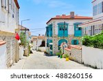 Small photo of Alacati village,Cesme,Izmir,Aegean coast of Turkey