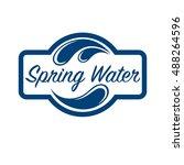 Blue Logo . Label For Mineral...
