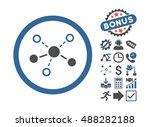 structure icon with bonus... | Shutterstock .eps vector #488282188