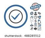 ok icon with bonus icon set....