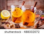 Hot Tea With Lemon  Anise And...