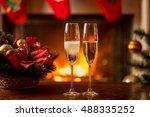 closeup image of fizzy...   Shutterstock . vector #488335252