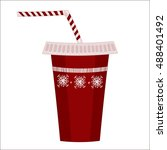 new year soda | Shutterstock . vector #488401492