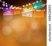 dia de los muertos  day of the... | Shutterstock .eps vector #488428855