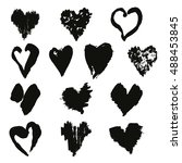 vector collection of elegant... | Shutterstock .eps vector #488453845