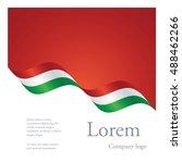 new brochure abstract design... | Shutterstock .eps vector #488462266