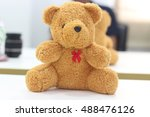 brown teddy bear | Shutterstock . vector #488476126