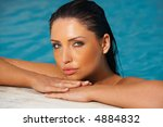beautiful young sexy woman in... | Shutterstock . vector #4884832