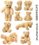 teddy bear collection | Shutterstock . vector #488494195