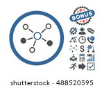 relations pictograph with bonus ... | Shutterstock . vector #488520595