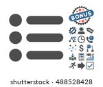 items icon with bonus design... | Shutterstock . vector #488528428