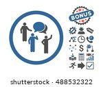 forum persons pictograph with... | Shutterstock . vector #488532322