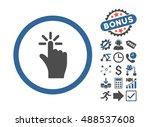 click icon with bonus symbols....
