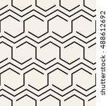 vector seamless pattern. modern ... | Shutterstock .eps vector #488612692