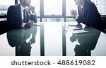 businessman office white collar ... | Shutterstock . vector #488619082