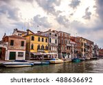 venice  italy   august 17  2016 ... | Shutterstock . vector #488636692