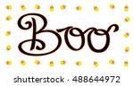 boo | Shutterstock .eps vector #488644972