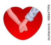 family heart 01   Shutterstock .eps vector #488647996