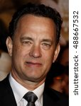 Tom Hanks At The World Premier...