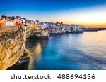 Puglia  Italy. Sunset Scenery...