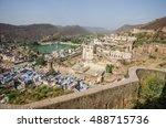 bundi palace  rajasthan  india. | Shutterstock . vector #488715736