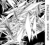 rough texture   abstract art ...   Shutterstock .eps vector #488723962