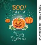 vector illustration of a... | Shutterstock .eps vector #488754382