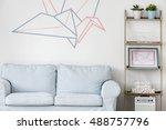 Light Living Room With Sofa ...