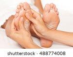 foot massage | Shutterstock . vector #488774008