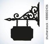 road store advice render... | Shutterstock .eps vector #488802436
