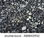 Abstract Gravel Texture On...
