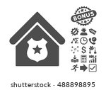 police office pictograph with... | Shutterstock .eps vector #488898895