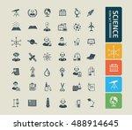 science innovation icon vector | Shutterstock .eps vector #488914645