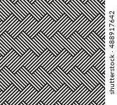geometric seamless pattern.... | Shutterstock .eps vector #488917642