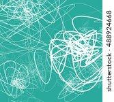 random sketchy lines abstract... | Shutterstock .eps vector #488924668