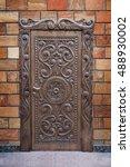 Vintage Old Wooden Front Door...