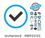 ok icon with bonus design...
