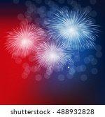 presidential election 2016 in... | Shutterstock .eps vector #488932828