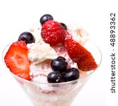 eton mess a traditional english ... | Shutterstock . vector #48893362