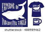 pattern design concept for... | Shutterstock .eps vector #488989462