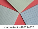 different types of lined... | Shutterstock . vector #488994796