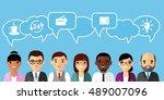 concept of vector  african... | Shutterstock .eps vector #489007096