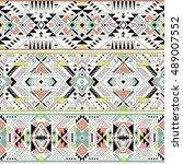 pastel multicolor tribal navajo ...   Shutterstock .eps vector #489007552