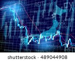 japanese stock prices | Shutterstock .eps vector #489044908