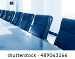 conference room tables and... | Shutterstock . vector #489063166