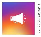 loudspeaker icon vector  clip...