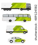 branding design for transport.... | Shutterstock .eps vector #489124582