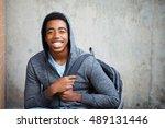 happy teenage student | Shutterstock . vector #489131446